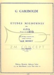 Gariboldi, Guiseppe: Études mignonnes op. 131 na flet
