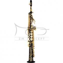 YAMAHA saksofon sopranowy Bb YSS-875 EXHGB czarny lakier, z futerałem