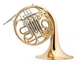 JOSEF LIDL waltornia podwójna F/Bb LHR860 Filharmonic, żółty mosiądz, rozk. czara, bez futerału