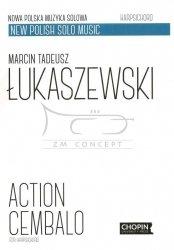 Łukaszewski M.T. , Action cembalo for harpsichord