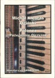 CONTRA Ogiński M. K.: Polonez Pożegnanie Ojczyzny na akordeon