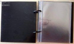 ZM CONCEPT książeczka marszowa do nut - marszówka, format A6, 15 folii, czarne sztywne okładki