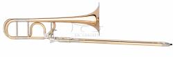 B&S puzon tenorowy Bb/F Meistersinger MS14N-1-0, lakierowany z futerałem