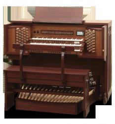 ALLEN organy cyfrowe seria Church, model RL-66a Rudy Lucente