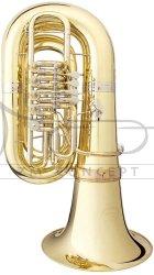 B&S tuba C Perantucci 3098-1-0GB PT-6, lakierowana, 5 wentyli obrotowych, z futerałem gig bag