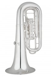 ANDREAS EASTMAN tuba F EBF864S, PROFESSIONAL, 4/4, 4 wentyle obrotowe, posrebrzana, z futerałem