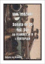 CONTRA Mozart W.A. : Sonata nr 25 KV301 na Klarnet i Fortepian