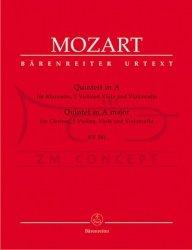 Mozart Wolfgang  Amadeus: Quintett in A  KV 581 kwintet klarnetowy: Głosy
