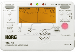 KORG metro-tuner chromatyczny TM50 PW