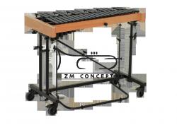 STUDIO49 DZWONKI koncertowe, model RGC 3030, naturalno-czarne drewno, 3 oktawy