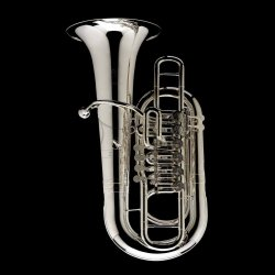 WESSEX tuba F Linz model TF436HS lakierowana, ręcznie wykonana, 6 wentyli obrotowych, z futerałem