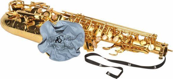 BG A30T wycior do saksofonu tenorowego z obciążnikiem mikrofibra+bamboo silk