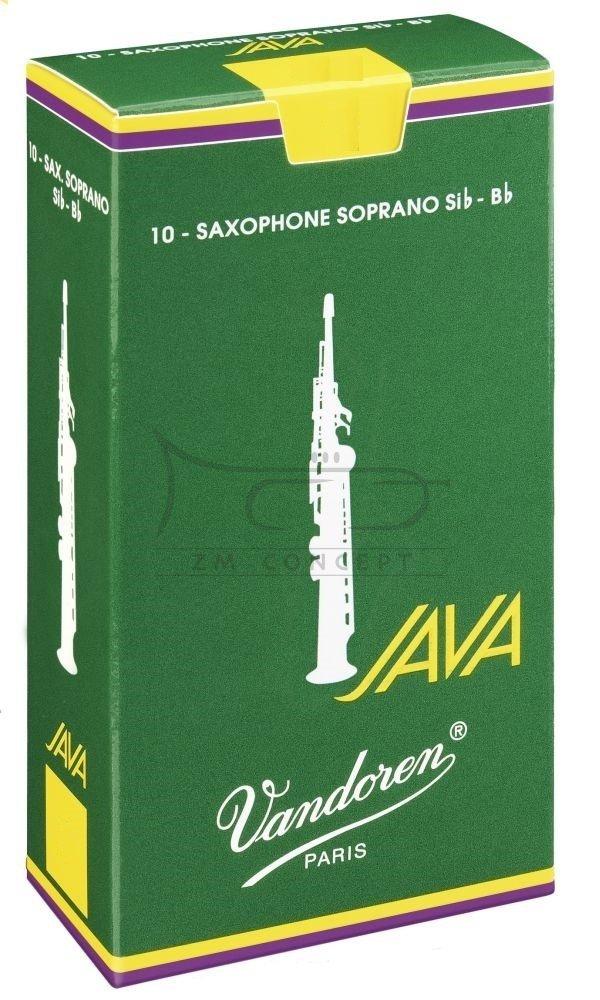 VANDOREN JAVA stroiki do saksofonu sopranowego - 2,5 (10)