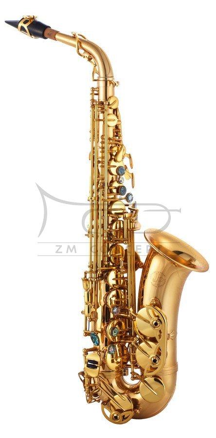JOHN PACKER saksofon altowy Es JP045G Lacquer, lakierowany, z futerałem