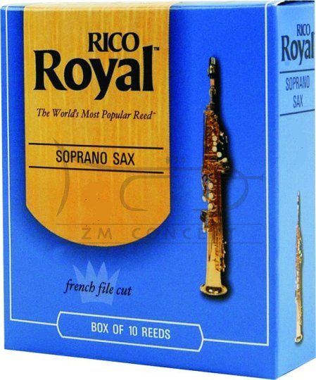 RICO ROYAL stroiki do saksofonu sopranowego - 3,0 (10)