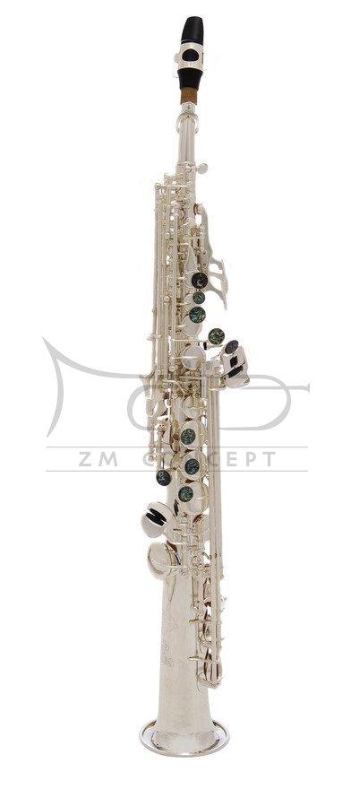 JOHN PACKER saksofon sopranowy JP043S Silverplated, posrebrzany, z futerałem