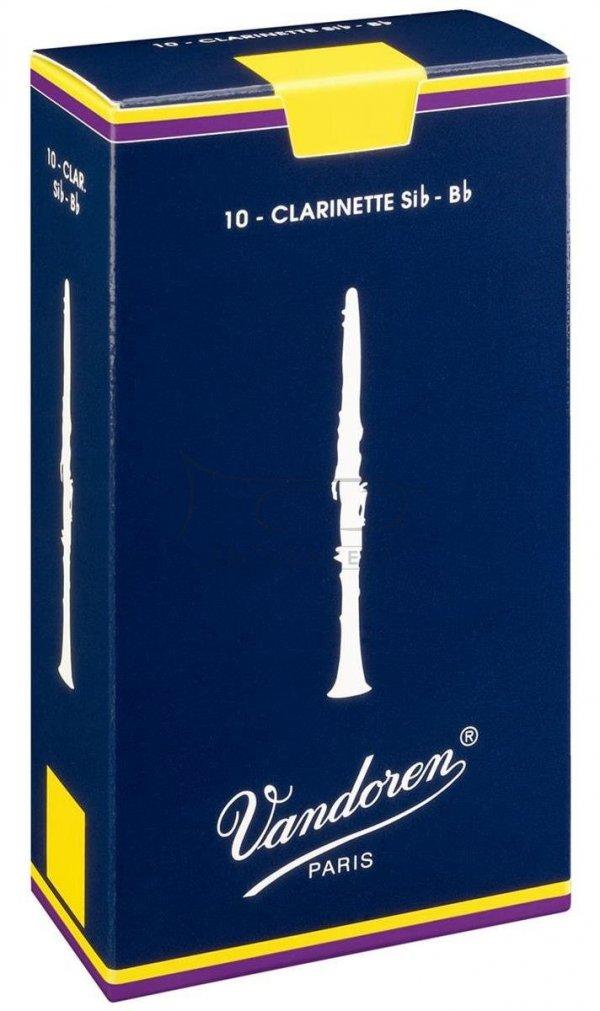 VANDOREN CLASS. stroiki do klarnetu B - 1,5 (10)