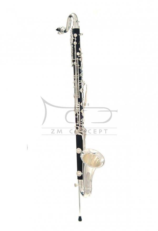 JOHN PACKER klarnet basowy Bb JP122, ABS, posrebrzane klapy, z futerałem