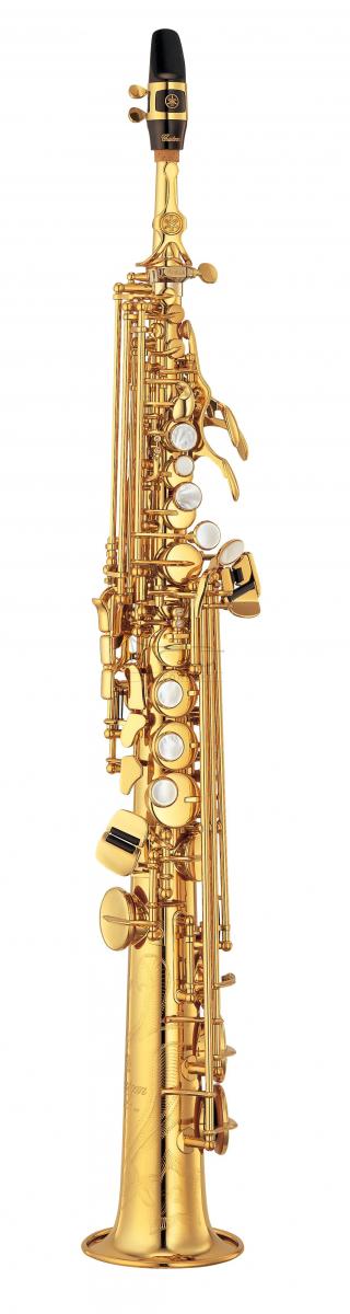 YAMAHA saksofon sopranowy Bb YSS-875 EXHG lakierowany, z futerałem - PROMOCJA