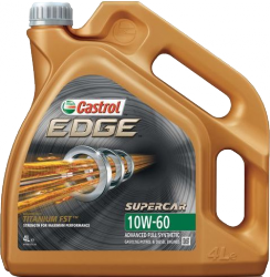 CASTROL EDGE 10W-60 SUPERCAR 4L