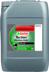 CASTROL TECTION MEDIUM DUTY 15W40 20L