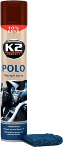 K2 POLO COCKPIT COLA + MIKROFIBRA 750ml do kokpitu