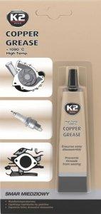 K2 B401 COPPER GREASE Smar miedziowy przeciw zapiekaniu się gwintów 20g