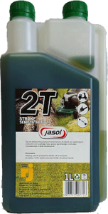 JASOL 2T Stroke OIL Semisynthetic TC 1L DOZOWNIK zielony