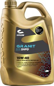CYCLON GRANIT SYN SHPD 15W-40 4L