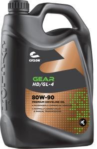 CYCLON GEAR HD GL-4 80W-90 4L