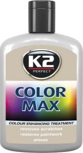 K2 K020SZ Wosk koloryzujący 200ml 00018 szary