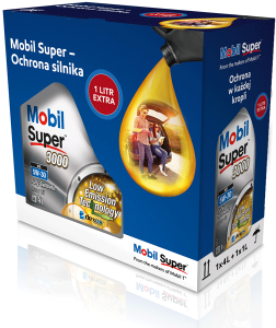 MOBIL SUPER 3000 XE 4L+1L 5W-30 505.01