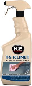 K2 T6 KLINET Odtłuszczacz powierzchni lakieru 770ml