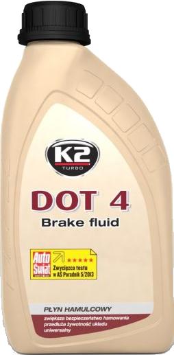 K2 T104 Płyn hamulcowy DOT4 500g