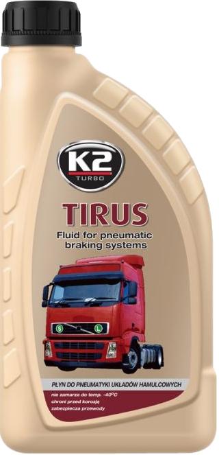 K2 T360 Niezamarzający płyn do układów hamulcowych -40C 1L