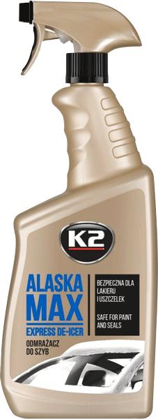K2 ALASKA Odmrażacz do szyb atomizer 700ml