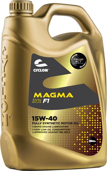 CYCLON MAGMA SYN F1 15W-40 4L