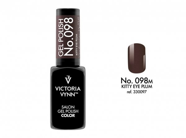 Victoria Vynn Lakier hybrydowy 098m 8ml KITTY EYE PLUM Gel Polish COLOR Victoria Vynn
