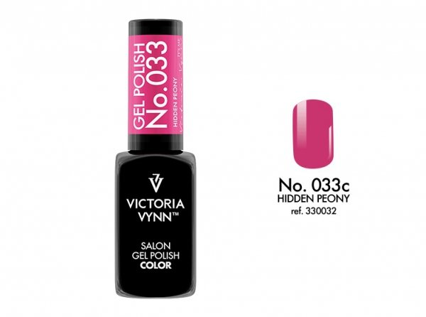 Victoria Vynn Lakier hybrydowy 033c 8ml HIDDEN PEONY Gel Polish COLOR Victoria Vynn
