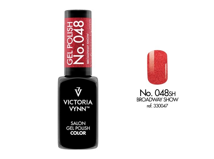 Victoria Vynn Lakier hybrydowy 048sh 8ml BROADWAY SHOW Gel Polish COLOR Victoria Vynn