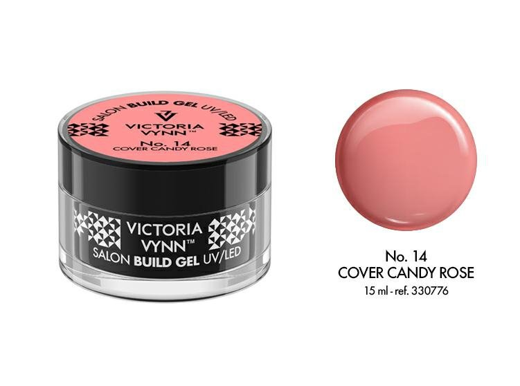 VICTORIA VYNN Żel budujący No. 14 15ml CANDY ROSE Build Gel
