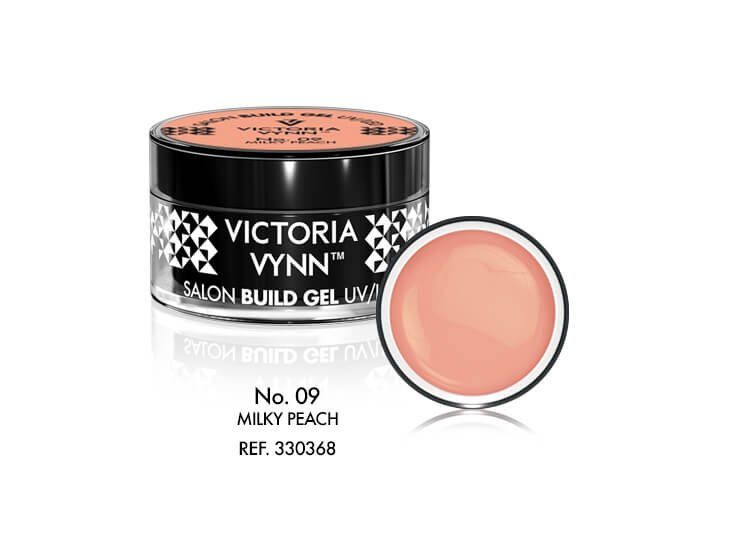 Victoria Vynn Żel budujący No. 09 15ml MILKY PEACH Build Gel