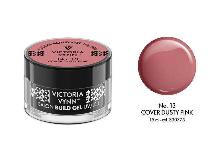 VICTORIA VYNN Żel budujący No. 13 15ml DUSTY PINK Build Gel