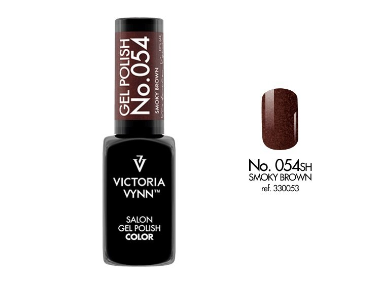 Victoria Vynn Lakier hybrydowy 054sh 8ml SMOKY BROWN Gel Polish COLOR Victoria Vynn