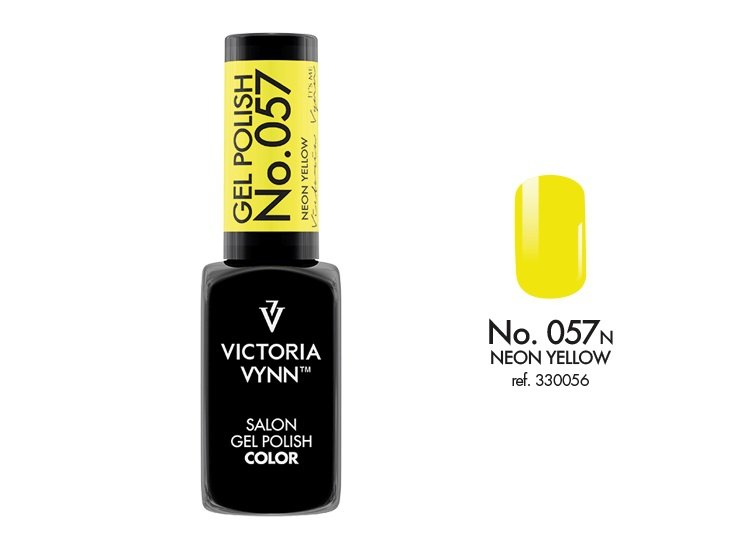 Victoria Vynn Lakier hybrydowy 057n 8ml NEON YELLOW Gel Polish COLOR Victoria Vynn