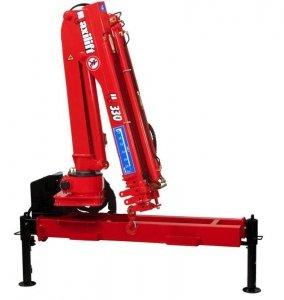 Żuraw Maxilift ML330.3 D  E 12V +rama podporowa +2 nogi Hydrauliczne