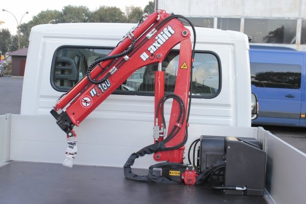Żuraw Maxilift ML230.2 D E12V komplet z rama + 2 podpory H