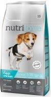 Nutrilove Premium Junior Small & Medium - ze świeżym kurczakiem 3x8kg