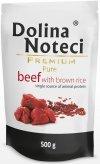 Dolina Noteci Premium Pure Wołowina z brązowym ryżem 10x500g