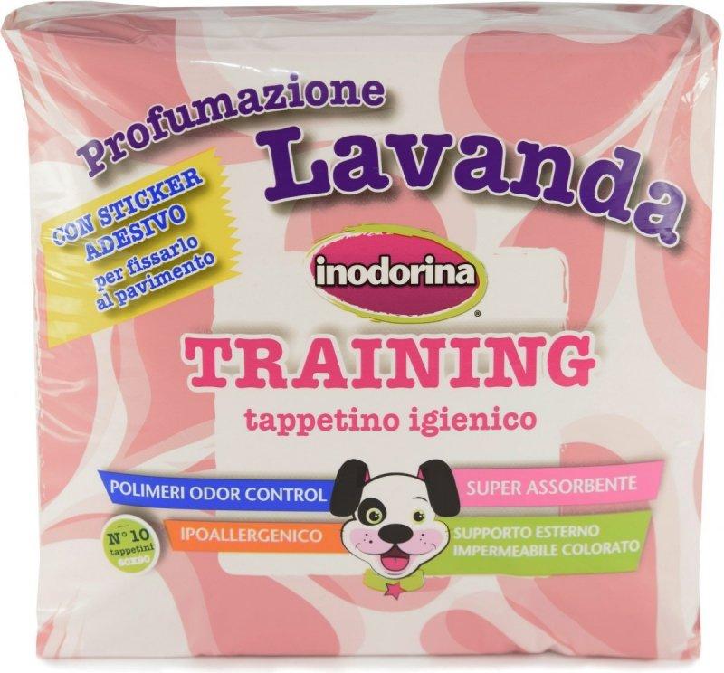 Inodorina Training Podkłady treningowe o zapachu lawendy 60x90cm - 10szt.